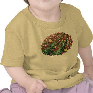 Tulips Yellow Baby T-Shirt Tee Shirts
