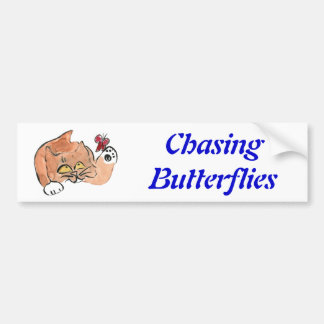Tully and the Red Butterfly Bumper Sticker