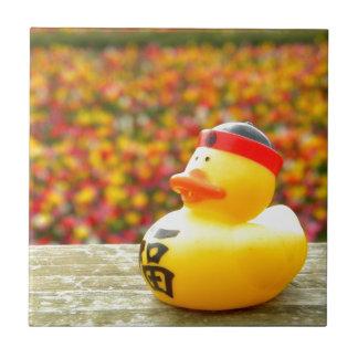 Tulpip Ducky Small Square Tile