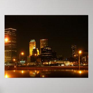 Tulsa Downtown Poster