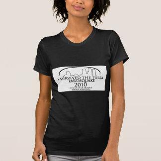 Tulsa Earthquake 2010 Tee Shirts