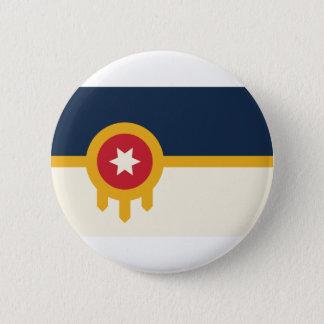 Tulsa Flag Button