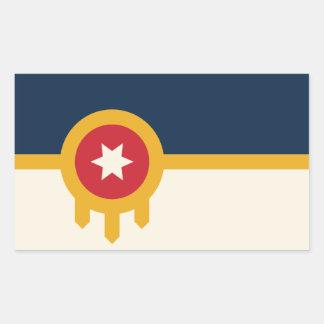 Tulsa Flag Stickers