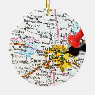 Tulsa, Oklahoma Christmas Ornament
