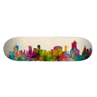 Tulsa Oklahoma Skyline Cityscape Skate Decks
