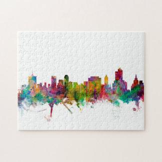 Tulsa Oklahoma Skyline Jigsaw Puzzle
