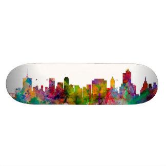 Tulsa Oklahoma Skyline Skate Board