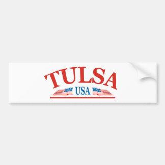 Tulsa Oklahoma USA Bumper Sticker