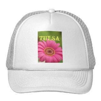 """Tulsa"" Pink Gerbera Daisy Hat"