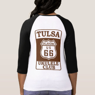 Tulsa Ukulele Club Women's Baseball shirt