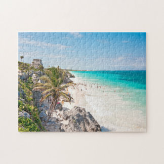Tulum Beach Jigsaw Puzzle