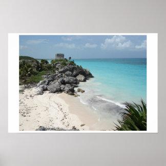 Tulum Mayan Ruins Posters
