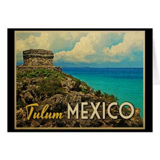 Tulum Mexico Card