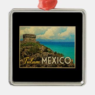 Tulum Mexico Christmas Ornament