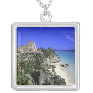 Tulum, Mexico Silver Plated Necklace