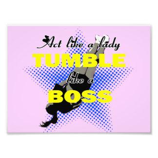 Tumble lika a Boss Cheerleader Photo