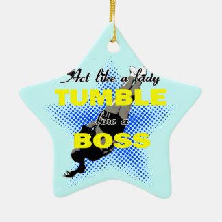 Tumble like a Boss Christmas Ornament