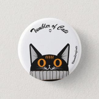 TumblerofCats button - Pumpkin TumblerCat