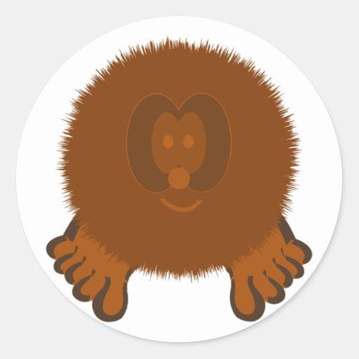 Tumbleweed Pom Pom Pal Stickers