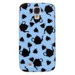 Tumbling Tea Party Galaxy S4 Cases