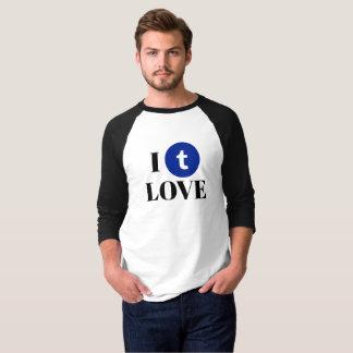 Tumblr Fan 3/4 Sleeve Raglan T-Shirt