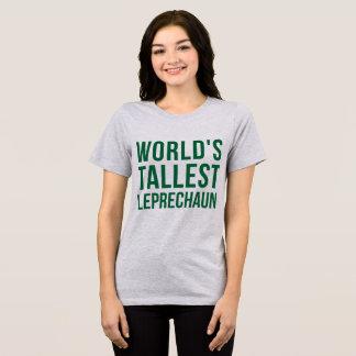 Tumblr T-Shirt World's Tallest Leprechaun
