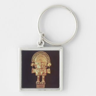 Tumi or ceremonial knife in  shape of Naylamp Key Ring