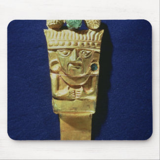 Tumi or ceremonial knife in the shape of mouse pad