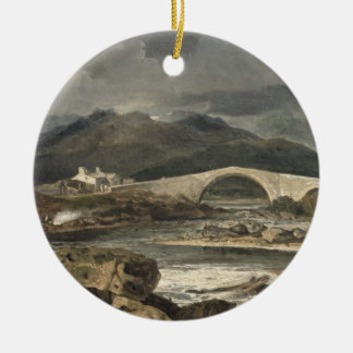 Tummel Bridge, Perthshire, c.1801-03 (oil on panel Christmas Ornament