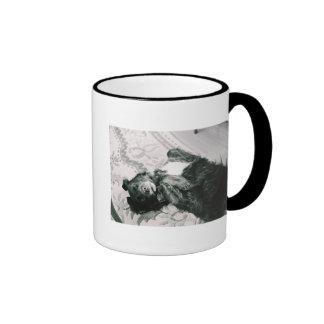 Tummy Rubs? Ringer Coffee Mug