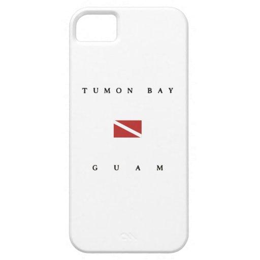 Tumon Bay Guam Scuba Dive Flag iPhone 5 Case