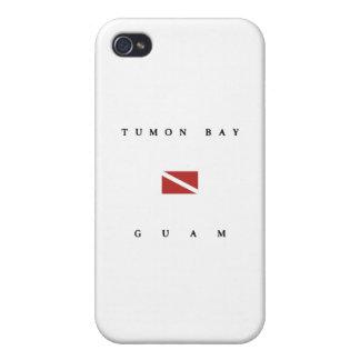 Tumon Bay Guam Scuba Dive Flag Cases For iPhone 4