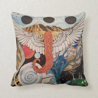 Tumultuous Skies throw pillow