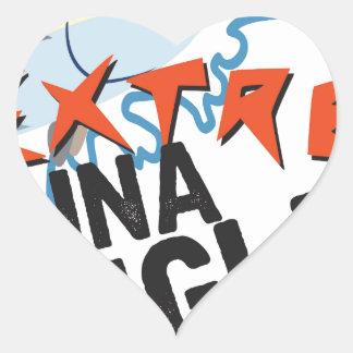 Tuna Angler Heart Sticker