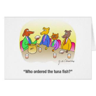 Tuna Fish Card