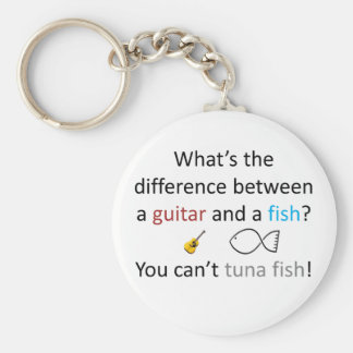 Tuna Fish Joke Key Ring