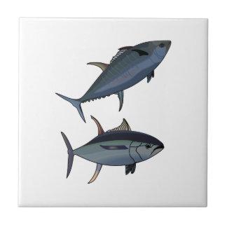 TUNA FISH SMALL SQUARE TILE