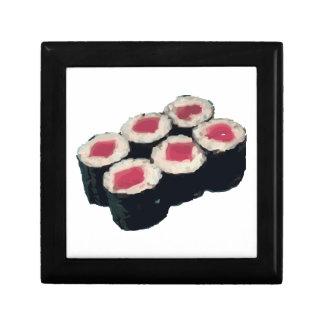 Tuna Sushi Roll Small Square Gift Box