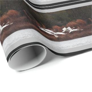 Tundra Swan Birds Animal Wildlife Wrapping Paper