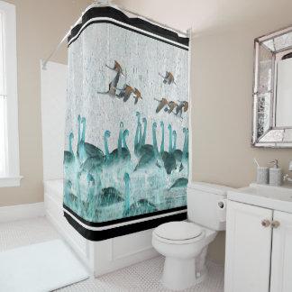 Tundra Swan Birds Animals Wildlife Shower Curtain