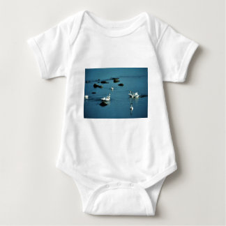 Tundra Swans on Water T Shirts