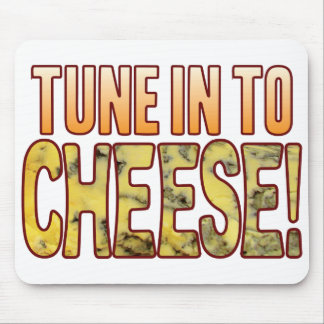 Tune In Blue Cheese Mouse Mat