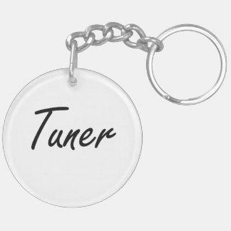 Tuner Artistic Job Design Double-Sided Round Acrylic Keychain
