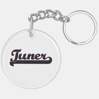 Tuner Classic Job Design Double-Sided Round Acrylic Key Ring