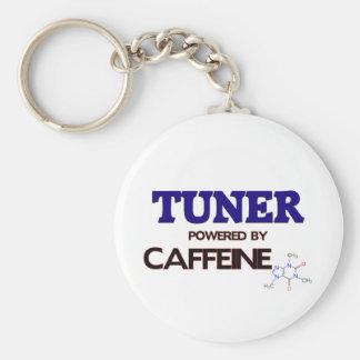 Tuner Powered by caffeine Keychain
