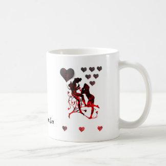 """Tunes Of Love""* Basic White Mug"