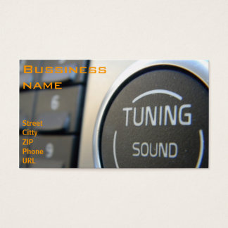 Tuning Sound Business Card