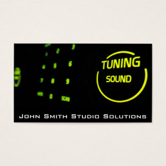 Tuning Sound - Professional Studio Business card