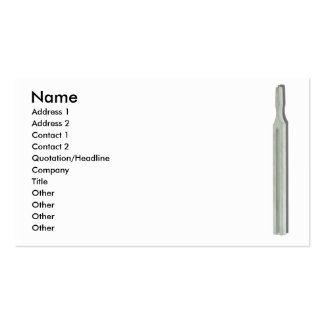 TuningForkCard, Name, Address 1, Address 2, Con... Pack Of Standard Business Cards