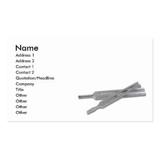 TuningForks073110, Name, Address 1, Address 2, ... Pack Of Standard Business Cards